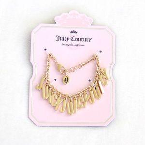 """Juicy Couture """"JUICY"""" Charm Bracelet"""